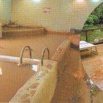 16756569 - サウナ、露天風呂を含め8種類の浴槽。源泉は底が見えない真っ茶色のお湯です。(パンフレットより)
