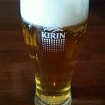 ライカノ - ビール小グラス(400円)