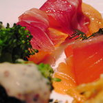 カフェテリア アルポルト - 前菜盛り