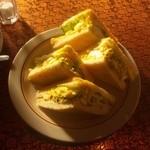 ラディッシュ - 日替わりパン付きモーニングセット(サンドウィッチ)