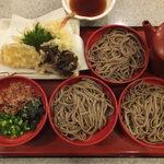 たまき - 天ぷら付割子そば
