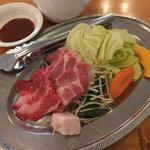 シャトー弥山 - しまね和牛と豚肉コース