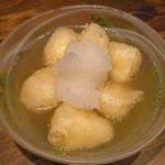 十祇家 - モッツァレラチーズの揚げ出し