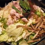十祇家 - 十祇家の京白味噌のモツ鍋