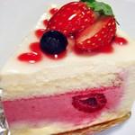 パティスリー グランソレイユ - チーズケーキ (^^
