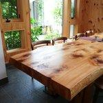 カフェ ル バン ベール - テーブル席