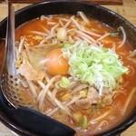 麺屋 清兵衛 - キムチ納豆ラーメン
