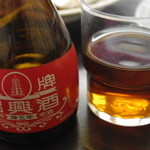 スタミナラーメン蔵王 - 紹興酒1合