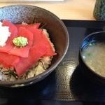 まぐろの大将 - 赤身丼¥600