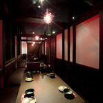 黒木屋 宮崎清武加納 - 最大30名様対応個室です。一列ですが...