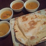 インド職人のカレー屋さん  - ランチビュッフェ(チキン、野菜、キーマ、シーフード)