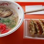 天山リゾート レストラン - ラーメンセット