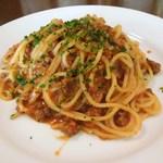 16765496 - 牛挽肉・トマトのラグーソース