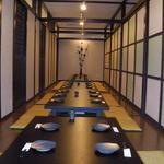 個室ダイニング こごみ - 最大70名様まで収容可能な堀ゴタツ個室です。