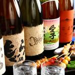 焼鳥ダイニング Yoshidori - こだわのお酒各種を用意してお待ちしております...