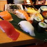 産直鮮魚寿司炉端 源ぺい - 大好物の寿司アップ♪