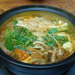 シオン - 料理写真:キムチ鍋