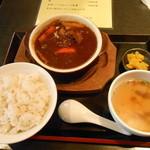 16767474 - 牛タンシチュー定食