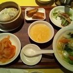 chaini-zukicchinourou - 飲茶セット(1680円)