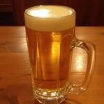 坂内食堂 - 『生ビール』~♪(^o^)丿
