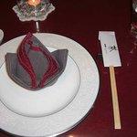 中國菜館林 - 林神龍 林 テーブルセット