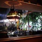 キッチン ククゥ - ライトがオサレ~♪