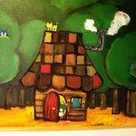 キッチン ククゥ - 森の中の小さなレストランのイメージなのかな?