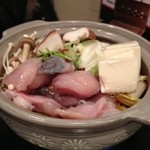 奏 - アンコウ鍋 お魚が新鮮でプリプリ( ^ω^ )