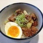 麺処 わ - ミニ豚丼