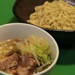 麺処 わ - つけ麺 (煮豚大盛)