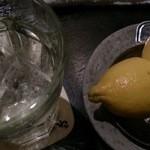 くいもの屋 わん - 生レモンサワー