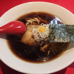 麺屋 武吉 - あっさり醤油ラーメンです。