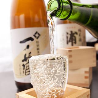 利き酒師が所属!季節ならではの地酒をセレクトしお待ちしております。