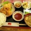 鴨島一福 - 料理写真:からあげにセット付き900円