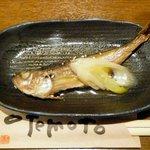 旬鮮酒場 Dank - お通し¥380 2013.1.11