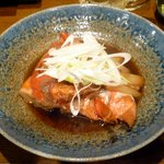 旬鮮酒場 Dank - きんめのかぶと煮¥650 2013.1.11