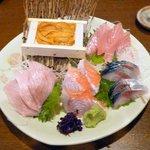 旬鮮酒場 Dank - おまかせ刺盛¥1,790 2013.1.11
