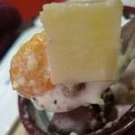 16776228 - シロップ漬けのフルーツ