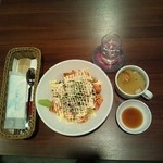オハナキッチン ホロホロ - サーモン丼