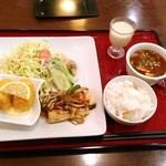豆花 - 豆腐ステーキ&コロッケランチ