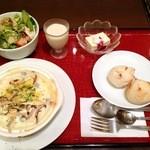 豆花 - 豆腐グラタンコース(きのこ)