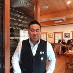 チポリーナ - マネージャー&ソムリエ 西山正晃さん