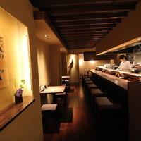 和風楽麺 四代目 ひのでや - ラーメンと同じく こだわりの和テイストの空間です