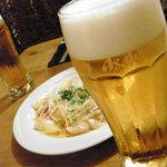 Yamaのuchi - ビールもすすむネギワンタン
