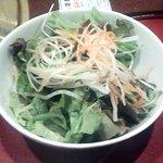 焼肉 穂坂 - サラダ
