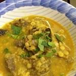 ノング インレイ - 3回目2013年1月12日ひよこ豆とマトンの混ぜご飯1000円