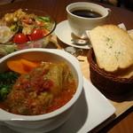 カフェ・ソニード - 料理写真:ロールキャベツのランチセット!全部で850円!