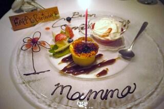 クッチーナ イタリアーナ ガッルーラ - 誕生日プレート。゚♡゚ありがと~~♪