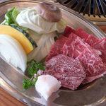 三次ワイナリー - 広島和牛Bコース 肉と焼き野菜