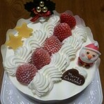 トレビアン - クリスマスケーキ ¥3,000→半額の¥1,500 2012年